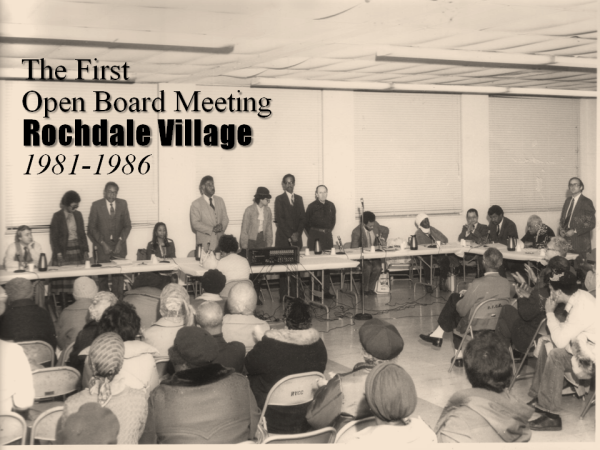 Rochdale's First Open Board Meeting