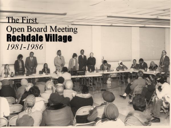 Rochdale's First Open Board Meeting